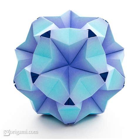 Modular Origami Patterns - fuufuki asagao kusudama by tomoko fuse go origami