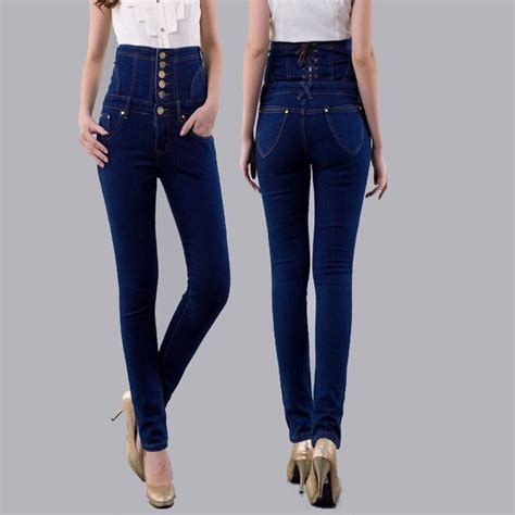 what are the best jeans for women in their forties aliexpress com buy fashion vintage women s empire waist