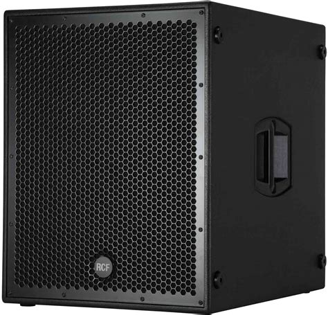 Speaker Subwoofer 18 Rcf rcf sub8004 as powered 18 inch subwoofer pssl