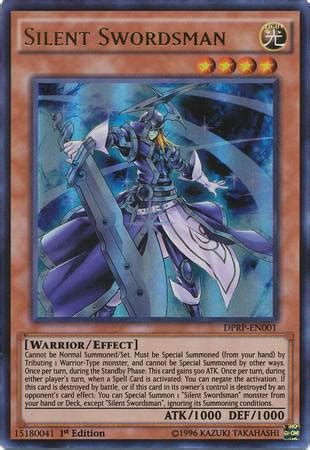 Yugioh Silent Swordsman Lv3 Lv5 Lv7 Playset Common dp rivals of the pharaoh kelz0r dk