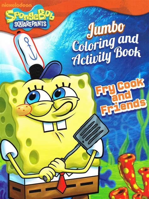 in the garden coloring book books spongebob squarepants coloring book assorted