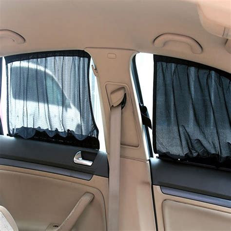 Sun Protection Curtains 70 48cm Car Curtain Anti Uv Sunscreen Net Cloth Shade Car Sun Shade Uv Protection Side Window