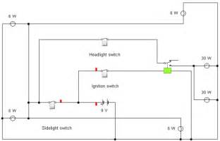 Car Light Reminder Circuit Car Wiring Diagram Activity