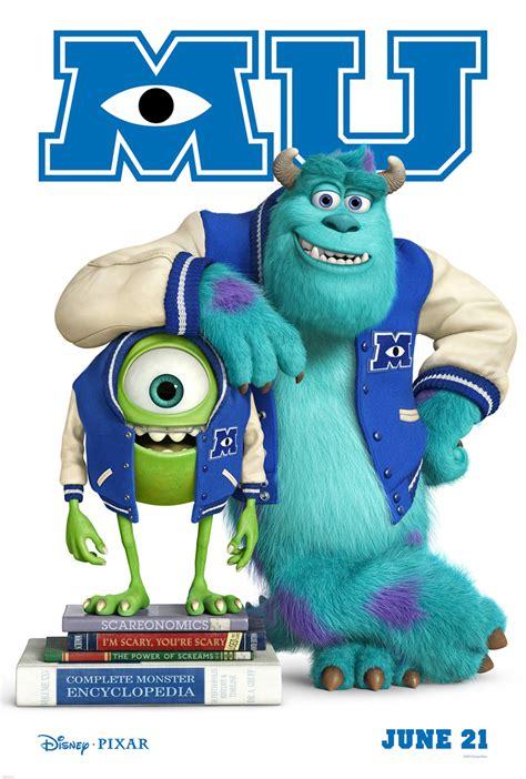 art karakter terbaru monster university dari disney pixar dua poster terbaru monsters university dari disney pixar