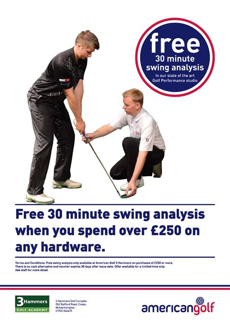 free golf swing analysis 3 hammers special offers