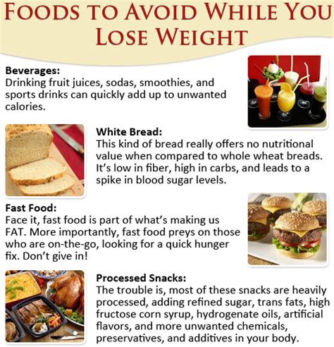 10 Foods To Eat To Lose Weight by Foods To Avoid To Lose Weight1 Jpg