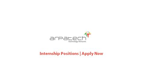 Mba Internships Sargodha by Arpatech Pvt Ltd Internship Oct 2016
