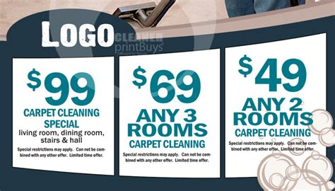 carpet cleaning business cards templates carpet cleaning business cards c0004 back view