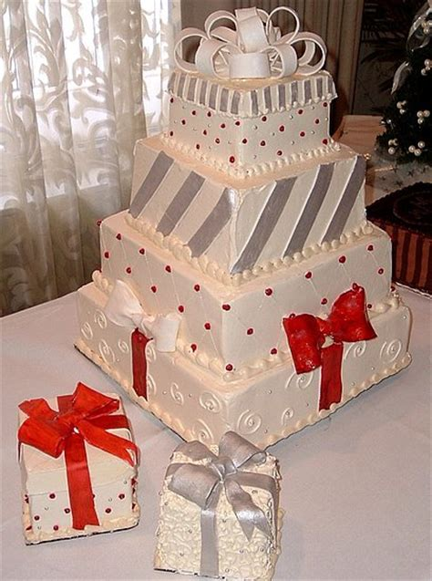 wedding cake wednesday christmas wedding cakes capture me
