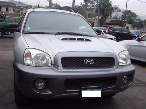 how to work on cars 2003 hyundai santa fe engine control 2003 hyundai santa fe information and photos momentcar