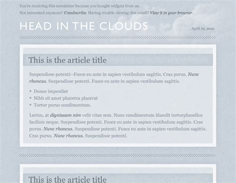 newsletter templates html code newsletter html code free images