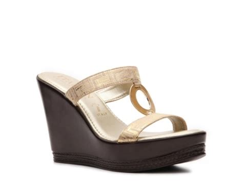 Wedges Mawar Rajut italian sandals october 2014