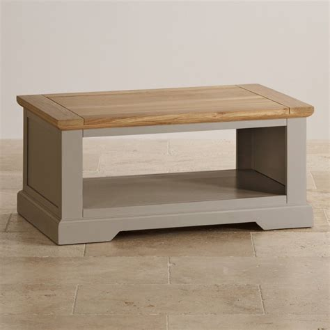 Painting Coffee Table St Ives Coffee Table In Light Grey Painted Oak