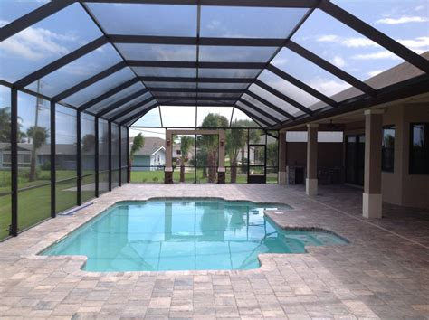 florida lanai cost why smart homeowners use phifer solar screens for pool