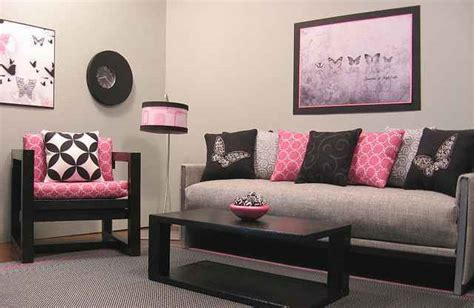 Pink And Black Home Decor | google image result for http www newhomescenery com wp