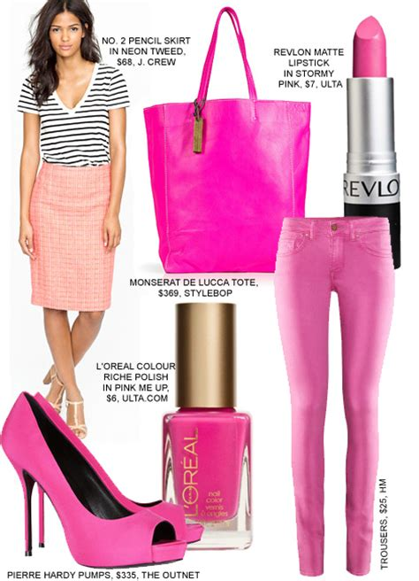 what is pinks style flurescent pink fashion style summer copy fashion