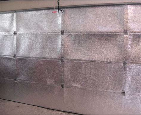 Garage Door Radiant Barrier Radiant Barriers And Insulation Sacramento Roofing