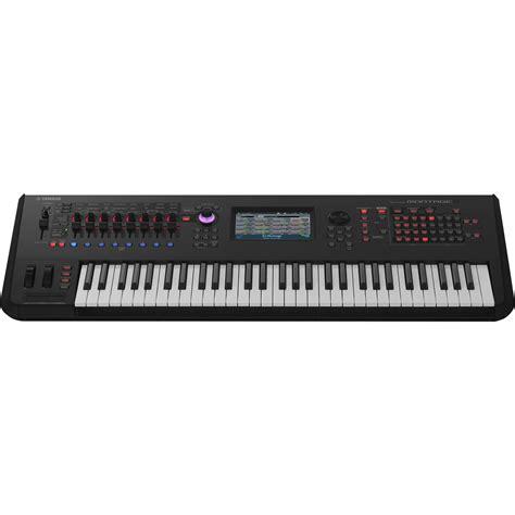 Keyboard Yamaha Synthesizer yamaha montage 6 61 key workstation synthesizer montage6 b h