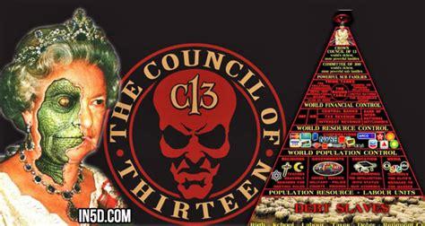 illuminati reptilian reptilians and the council of 13