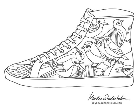 shoe coloring page converse coloring pages shoe embroidery sketch coloring page