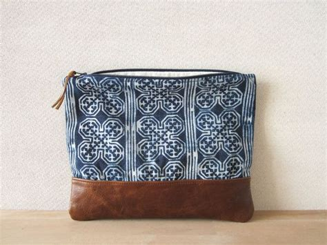 Tas Batik Vintage fold clutch bag vintage batik fabric and by