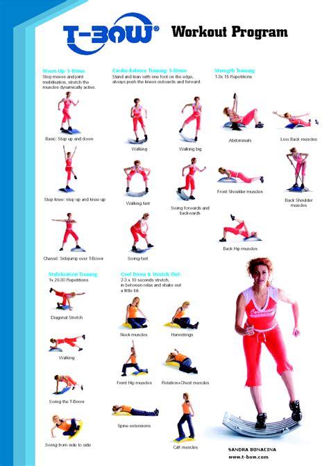 imagenes de ejercicios para workout t bow fitness wellness terapia motriz entrenamiento