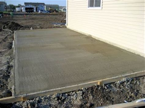 do it yourself concrete pad mobilehomerepair