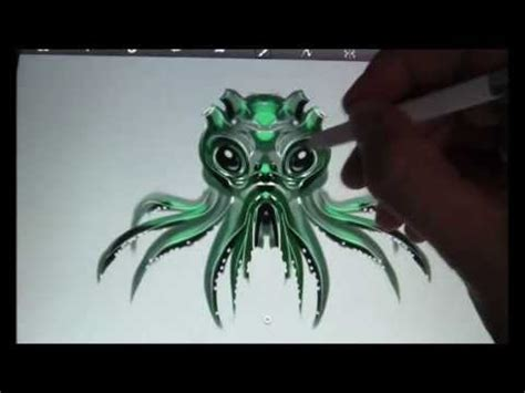 sketchbook pro note 2 cthulhu sketch sketchbook pro samsung note 10 1