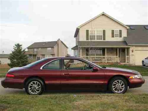 how to sell used cars 1998 lincoln mark viii seat position control sell used 1998 lincoln mark 8 collectors edition lsc very