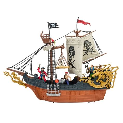 toy boat red dead redemption deluxe captain pirate ship playset pirates uk
