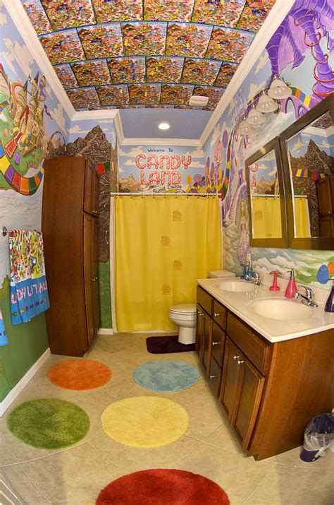 Sweet Escape Candyland And Other Bathrooms At Our Luxury Vacation Home Rental