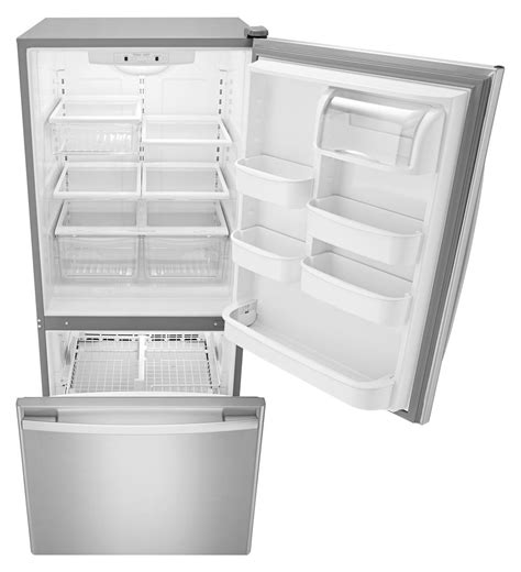 Pull Out Refrigerator Drawers by Abb1924brm Amana 174 29 Inch Wide Amana 174 Bottom Freezer