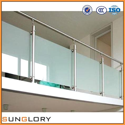 glass banister cost glass stair railing cost frosted glass stair railing cost