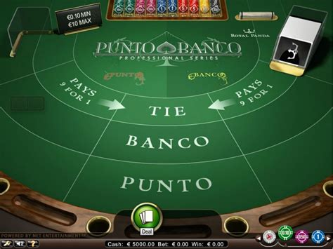punto banco baccarat punto banco baccarat spelen