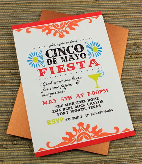 Cinco De Mayo Fiesta Invitation Template Download Print Cinco De Mayo Template