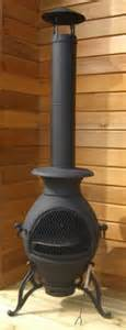 Black Clay Chiminea Buy The Tico Style Cast Iron Chiminea From The