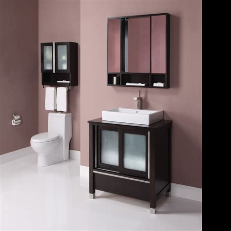 Decolav Tyson 31 inch Contemporary Bathroom Vanity, Solid