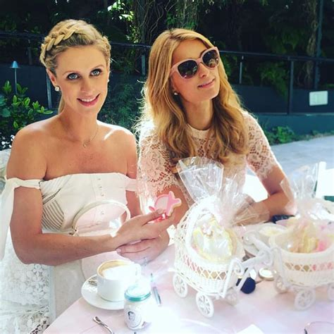 nicky hilton james rothschild  daughter lily grace purple velvet project