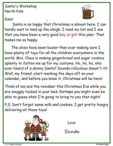 printable letter to santa pdf 33 best printable santa letters images on pinterest