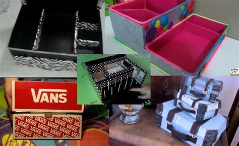 decoracion de cajas de carton para guardar ropa 6 opciones para reciclar cajas de zapatos y 10 ideas para