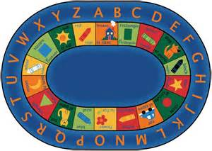 bilingual alphabet classroom circle time rug 8 3 quot x 11 8