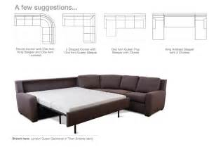 comfort sleeper sectionals endless possibilities