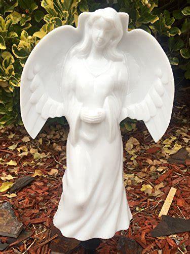 Solar Lighted Angel by Eternal Light, Memorial Decoration