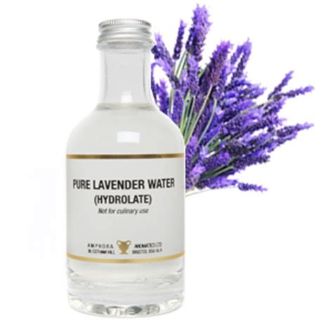 Fresh Lavender For Detox Water by Organic Lavender Water Hydrolate 200ml Hora Aromatics