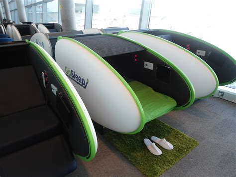 sleeping pods airport seating where modern ideas and classic design