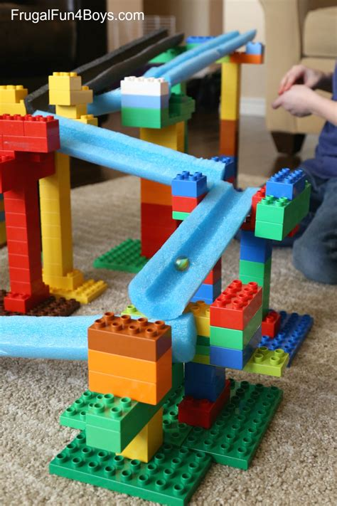 how to build a canstruction project stem building challenge for kids lego duplo and pool