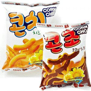 Corn Choco Snack Korea snacks from asia to munch on this new year