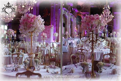 Hochzeitsdeko Rosa by Tischdeko Mit Kerzenleuchter Kerzenst 228 Nder