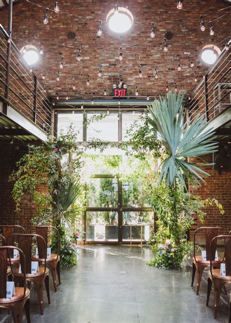 Modern New York City Wedding at The Foundry: Lauren   Ben