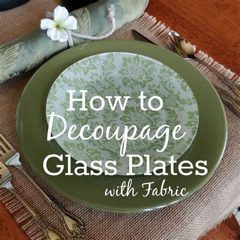 How To Decoupage On Glass - best 25 decoupage glass ideas on decoupage